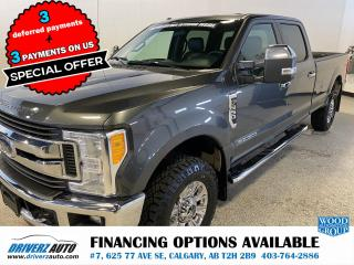 Used 2017 Ford F-350 XLT FX4, HEATED LEATHER SEATS .. for sale in Calgary, AB