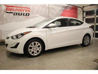 Used 2015 Hyundai Elantra GL for sale in Lévis, QC
