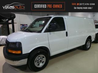 Used 2020 GMC Savana 2500 Work Van 135WB  4.3L V6  KEYLESS ENTRY  R/CAMERA for sale in Vaughan, ON