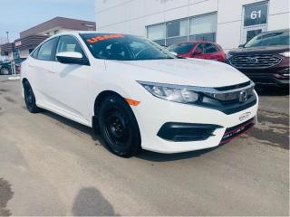 Used 2017 Honda Civic 4dr Cvt Lx for sale in Lévis, QC