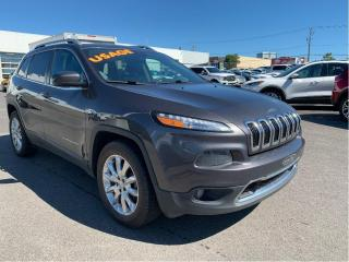 Used 2017 Jeep Cherokee 4WD 4Dr Limited for sale in Lévis, QC
