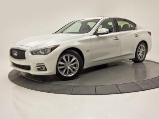 Used 2016 Infiniti Q50 2.0T CUIR TOIT OUVRANT CAM DE RECUL for sale in Brossard, QC