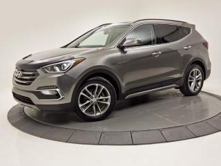 Used 2017 Hyundai Santa Fe Sport AWD SE TURBO TOIT PANO CAM DE RECUL CUIR for sale in Brossard, QC