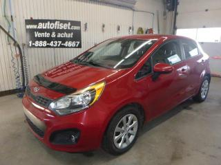 Used 2013 Kia Rio 5dr HB Auto LX+ $36.62 par semaine+taxes for sale in St-Raymond, QC