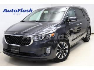 Used 2015 Kia Sedona SX *8-Passenger *Blind-Spot *A/C-3-Zones *Camera for sale in St-Hubert, QC