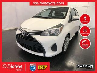 Used 2016 Toyota Yaris LE GR COMMODITÉ *AC, MIROIRS CHAUFFANTS,BLUETOOTH* for sale in Québec, QC