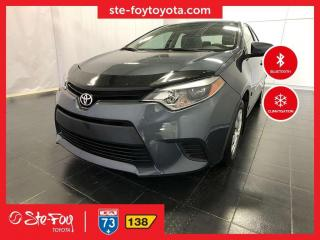 Used 2016 Toyota Corolla CE GR CLIMATISEUR *AC, MIROIRS CHAUFFANTS* for sale in Québec, QC