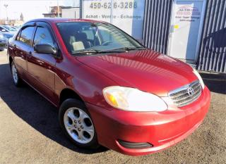 Used 2006 Toyota Corolla ***CE,AUTOMATIQUE,TOIT,A/C,MAGS*** for sale in Longueuil, QC