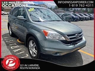 Used 2010 Honda CR-V EX-L for sale in Rouyn-Noranda, QC