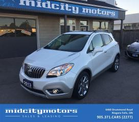 Used 2013 Buick Encore Leather/ LOW KMs/ 1-Owner/ No Accidents/ Sunroof for sale in Niagara Falls, ON