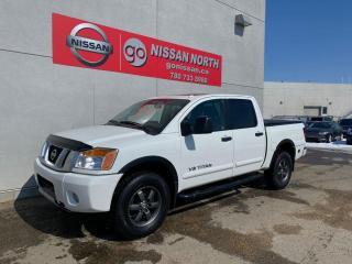 Used 2014 Nissan Titan SL 4x4 Crew Cab SWB 139.8 in. WB for sale in Edmonton, AB