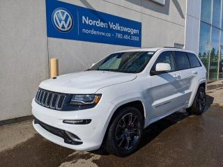 Used 2016 Jeep Grand Cherokee SRT 4WD - 475HP ROCKET! LAGUNA LEATHER for sale in Edmonton, AB
