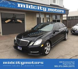 Used 2013 Mercedes-Benz E-Class E 350 4MATIC/ Sunroof/ Navigation/ Backup Camera for sale in Niagara Falls, ON