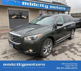 Used 2013 Infiniti JX35 All Wheel Drive/ Sunroof/ Nav/ Heated Seats/ DVD for sale in Niagara Falls, ON