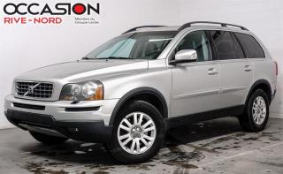 Used 2008 Volvo XC90 AWD CUIR-TOIT-7 places for sale in Boisbriand, QC