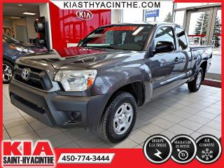 Used 2014 Toyota Tacoma Access Cab ** GR ÉLECTRIQUE + A/C for sale in St-Hyacinthe, QC