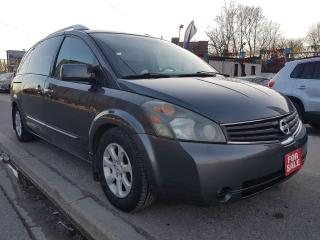 Used 2008 Nissan Quest S-EXTRA CLEAN-7 SEATS-2 SETS OF TIRES-DVD-ALLOYS for sale in Scarborough, ON