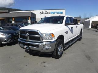 Used 2018 RAM 3500 SLT-CREW CAB 5.7L HEMI V8 LONG BOX - 4WD for sale in Duncan, BC