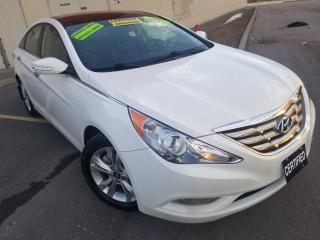 Used 2013 Hyundai Sonata LEATHER,NAVIGATION,PANORAMIC ROOF,NO ACCIDENT for sale in Mississauga, ON