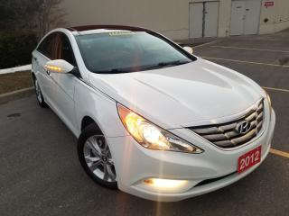 Used 2012 Hyundai Sonata LEATHER, PANORAMIC ROOF, for sale in Mississauga, ON