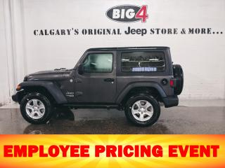 New 2020 Jeep Wrangler SPORT for sale in Calgary, AB