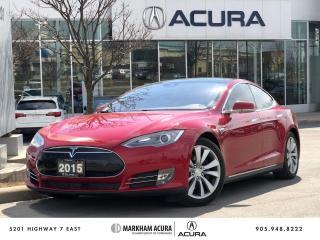 Used 2015 Tesla Model S 85D for sale in Markham, ON