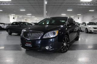 Used 2016 Buick Verano SPORT TOURING NO ACCIDENTS I NAVIGATION I LEATHER I REAR CAM for sale in Mississauga, ON