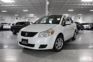 Used 2008 Suzuki SX4 NO ACCIDENTS I MANUAL I KEYLESS ENTRY I POWER OPTIONS for sale in Mississauga, ON