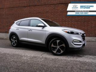 Used 2016 Hyundai Tucson PREMIUM 1.6L TURBO | LOCAL TRADE IN | AUTO | HTD SEATS AND STEERING WHEEL   - $130 B/W for sale in Brantford, ON