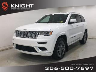New 2020 Jeep Grand Cherokee Summit V8 | Panoramic Sunroof | Navigation for sale in Regina, SK