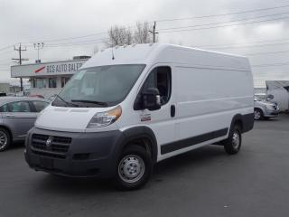 Used 2018 RAM 3500 ProMaster High Roof, Extended Body, Heavy Duty 3500 Series for sale in Vancouver, BC
