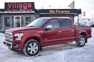 Used 2016 Ford F-150 Platinum Heated & AC Seats! Heated Steering Wheel! for sale in Saskatoon, SK