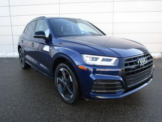 Used 2020 Audi Q5 45 Progressiv Progressiv, S-Line Black Package for sale in Regina, SK