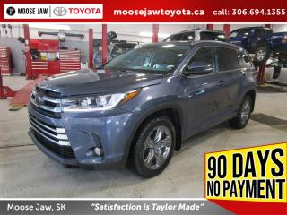 Used 2018 Toyota Highlander Limited Fully Loaded, Toyota Certified, One owner for sale in Moose Jaw, SK