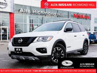 Used 2019 Nissan Pathfinder SL Rockcreek   Bose   360 CAM   Pano   Leather for sale in Richmond Hill, ON