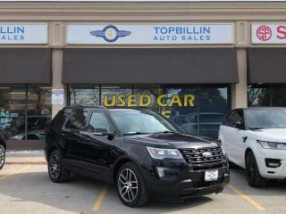 Used 2016 Ford Explorer Sport, Navi, Pano Roof, Fully Loaded for sale in Vaughan, ON