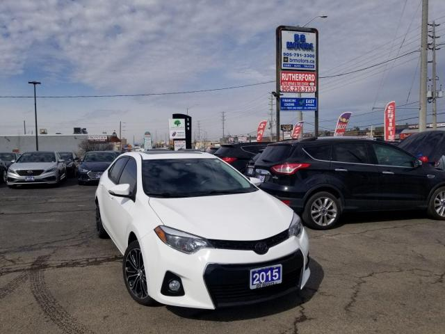 2015 Toyota Corolla S AUTO SUNROOOF BACK UP CAMERA