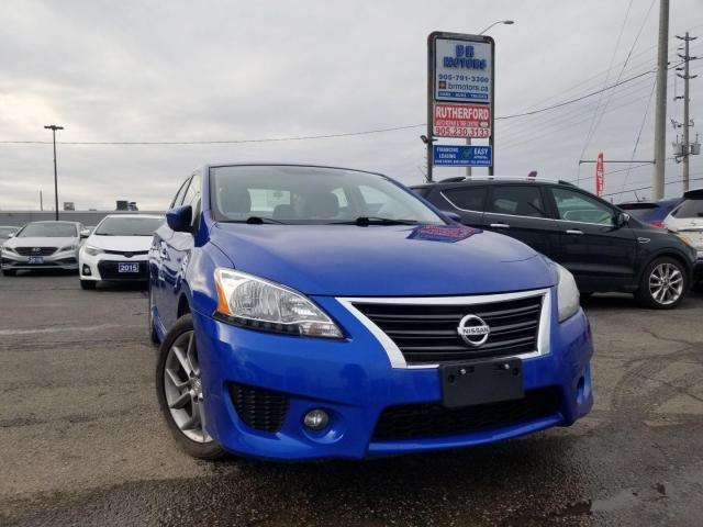 2013 Nissan Sentra SR MODEL SUNROOF NAVIGATION ALLOYS