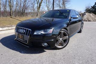 Used 2010 Audi S4 MANUAL / LOADED / LOCAL CAR / RARE / 6 SPD MANUAL for sale in Etobicoke, ON