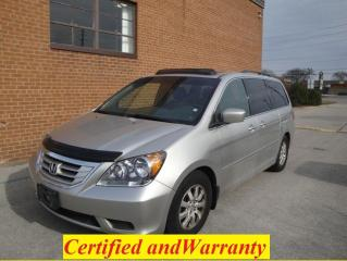 Used 2008 Honda Odyssey EX-L, Backup Camera, Leather, Sunroof for sale in Oakville, ON