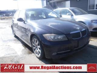Used 2007 BMW 3 Series 335I 4D Sedan 2WD for sale in Calgary, AB