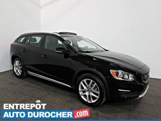 Used 2017 Volvo V60 T5 AWD NAVIGATION - Toit Ouvrant - A/C - for sale in Laval, QC