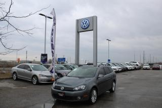 Used 2014 Volkswagen Golf Wagon 2.0L TDI Man Wolfsburg Edition for sale in Whitby, ON