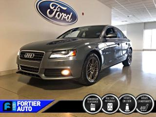 Used 2012 Audi A4 Berline 4 portes, boîte automatique, qua for sale in Montréal, QC