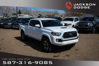 Used 2018 Toyota Tacoma SR5 - NAV, Heated Seats for sale in Medicine Hat, AB