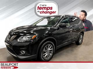Used 2016 Nissan Rogue SL AWD PREMIUM ***CUIR+ TOIT + NAVIGATIO for sale in Beauport, QC