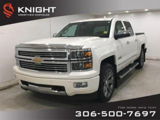 Used 2015 Chevrolet Silverado 1500 High Country Crew Cab | Leather | Navigation | Sunroof for sale in Regina, SK