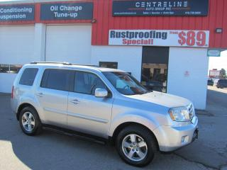 Used 2010 Honda Pilot EX-L 10,595+HST+LIC FEE / FULLY LOADED / CERTIFIED / 3RD ROW SEATING / AWD for sale in North York, ON
