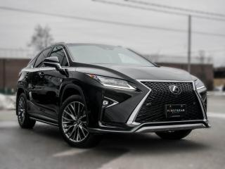 Used 2016 Lexus RX 350 F sport 3 I NAV I Panoroof I Heads up I Black on red I for sale in Toronto, ON