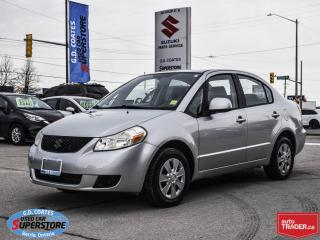 Used 2008 Suzuki SX4 ~Power Windows + Locks ~Air Conditioning for sale in Barrie, ON